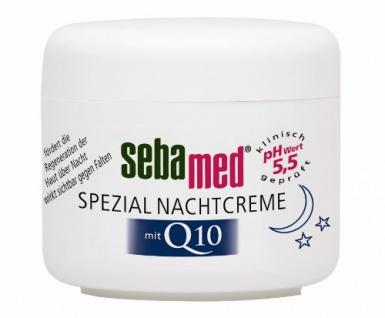 Sebamed Spezial Nachtcreme mit Q10 75ml, 1er Pack (1 x 75 ml)