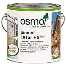Osmo Einmal-Lasur HSPlus Teak seidenmatt und transparent 2500ml