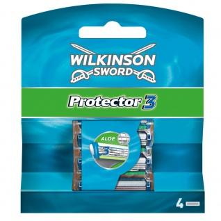 Wilkinson Protector 3 Klingen 4 Stück in einer Packung für Männer