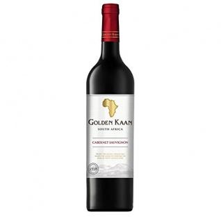Golden Kaan Cabernet Sauvignon Rotwein aus Südafrika trocken 750ml 12er Pack