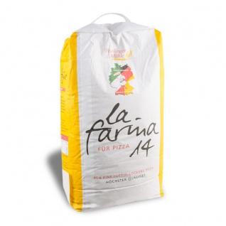 La Farina Pizzamehl mit 14 Prozent Proteingehalt Hartweizen 1000g
