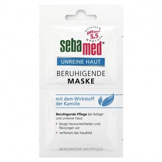 Sebamed Beruhigende Maske bei fettiger und unreiner Haut 2x5ml