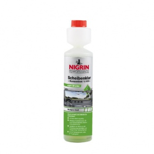 NIGRIN 74131 Scheibenklar Konzentrat 1:100 Design 250 ml
