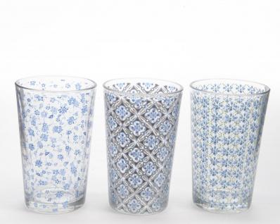 Longdrinkglas blau