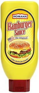 Homann Hamburger Sauce das Original würzig cremig 450 ml 12er Pack