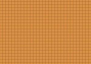 Karteikarten A6 orange kariert