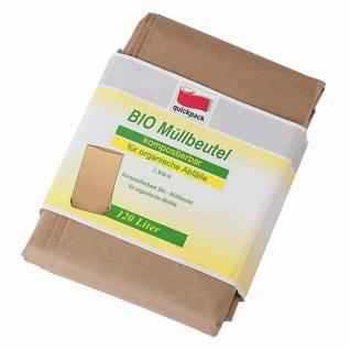 Quick Pack Bio Müllbeutel 120 Liter, 2 Stück