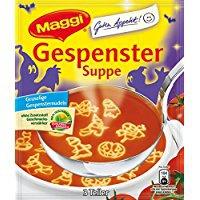 Maggi Guten Appetit, Gespenster Suppe, 85 g Beutel (ergeben 750 ml) Für 3 Teller