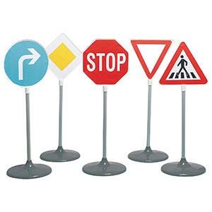Spielwaren Verkehrszeichen Set