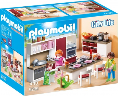 Playmobil Groe Familienkueche