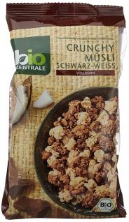 biozentrale Crunchy Müsli Schwarz-Weiss, 3er Pack (3 x 375 g)