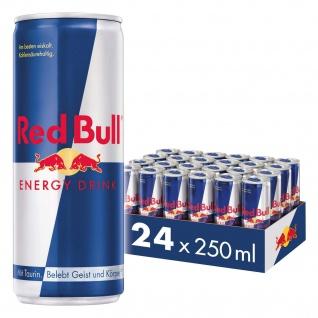 Red Bull Energy Drink koffeinhaltiges Erfrischungsgetränk 250ml 24Pack