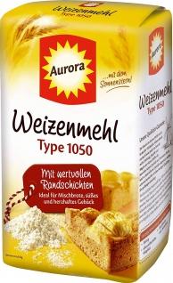 Aurora - Weizenmehl Type 1050 - 1kg