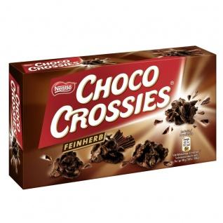 Nestlé Choco Crossies feinherb einzigartiger Knusperspaß 150g