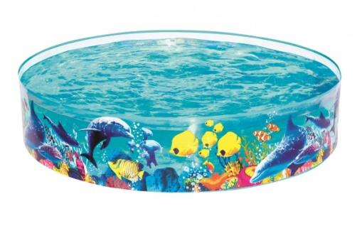 Fill N Fun Planschbecken Clownfisch strapazierfähig Durchmesser 183cm