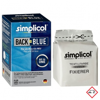 Simplicol Farberneuerung Hautfreundlich All in 1 Back to Blue
