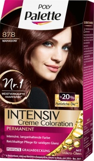 POLY Palette Intensiv Creme Coloration 878 Mahagoni 115ml Stufe 3
