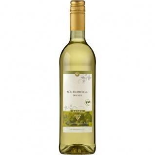 Bio Baden Müller Thurgau trockener Weißwein Qualitätswein 750ml