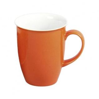 Doppio Serie Kaffeebecher / Kaffeetasse 320ml, orange, 1 Stück