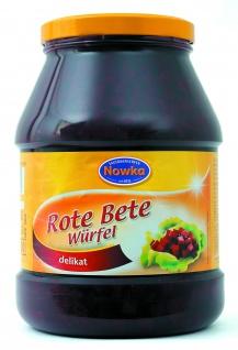 Paulsen Nowka Rote Bete Würfel delikat und direkt menüfertig 1000g