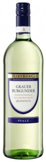 Rietburg Wappen - Pfalz Grauer Burgunder QbA halbtrocken 1 L 12%