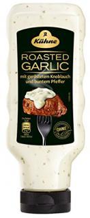 Kühne Würzsauce Deluxe Roasted Garlic, 8er Pack (8 x 250 ml)
