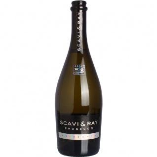 Scavi + Ray Prosecco Frizzante zarter Duft und fruchtig prickelnd 750ml