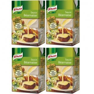 Knorr Sauce Bernaise perfekt zu vielen Fleischgerichten 250ml 4er Pack