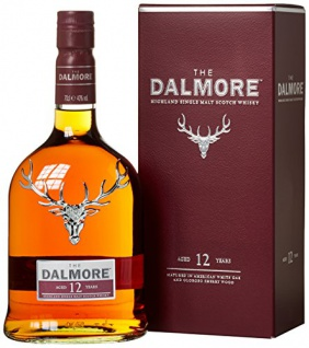 Dalmore 12 Jahre Single Malt Scotch Whisky (1 x 0.7 l)