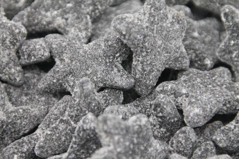 Lakritz Sterne starkes Lakritz mit salzigem Überzug veggie 1000g