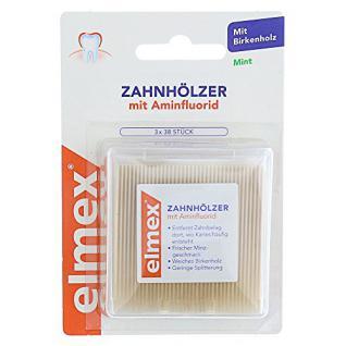 Elmex Zahnhölzer, 3X38 St