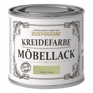 Rust Oleum Shabby Kreidefarbe Möbellack Salbei Grün matt Finish 125ml
