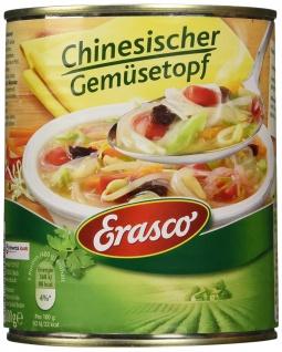 Erasco Chinesischer Gemüsetopf mit Glasnudeln Eintopf 800g 2er Pack