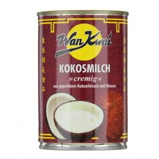 Wan Kwai Kokosmilch besonders cremig aus gepreßtem Kokosfleisch 400ml