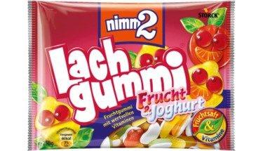 Nimm2 Fruchtgummi Storck Lachgummi Frucht und Joghurt Tüte 250g