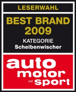 Bosch 3397004757 Wischblatt Heck H400 - Länge: 400