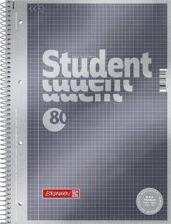 Collegeblock A4 Karriert Premium 90g