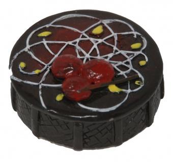 Magnet als Kuchen Design Farbe Braun Durchmesser 35mm 1 Stück