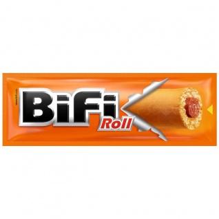 BiFi Roll Mini Salami eingewickelt gebackenen Teigmantel 50g