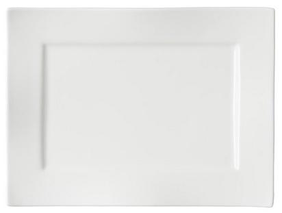 Ritzenhoff und Breker Via Platte aus Porzellan in der farbe Weiß