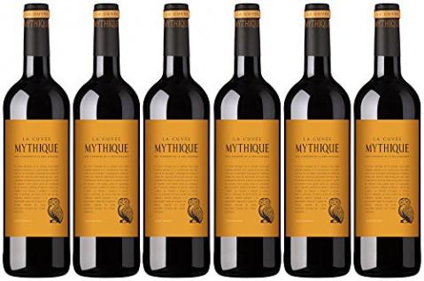 La Cuvee Mythique Rouge Vin de Pays d Oc trocken 750ml 6er Pack