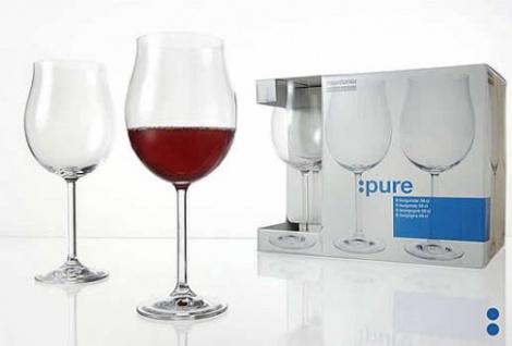 Burgunderglas Weinkelch von montana Serie PURE 190ml 6er Set