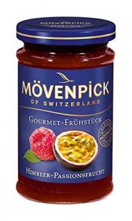 Mövenpick Gourmet-Frühstück Himbeer-Passionsfrucht, 8er Pack (8 x 250 g)