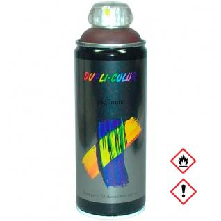 Dupli Color Platinum RAL 8017 Schokobraun Seidenmatt Spraydose 400ml