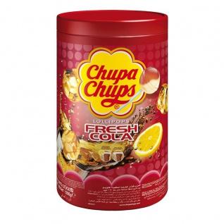Chupa Chups Lutscher mit Cola und Cola Zitronengeschmack 1200g