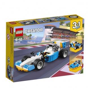 Lego Creator 31072 Ultimative Motor-Power Dir die Welt der Rennen offen