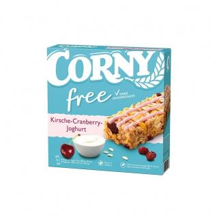 Corny free Cranberry Joghurt Kirschgeschmack Müliriegel 6x20g 120g