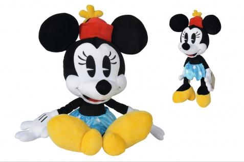 Simba 6315875989 Disney Minnie im Retro Style 50cm Plüschtier