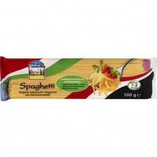 Monte Castello Spaghetti aus Hartweizengriess 500g 15er Pack