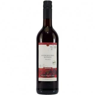 Bio Baden Spätburgunder Rotwein trockener Qualitätswein 750ml